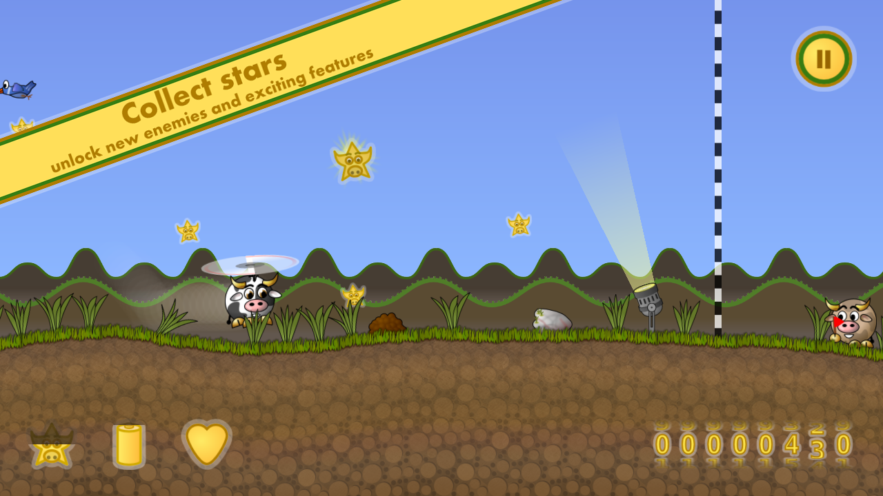 Cow Copter- screenshot