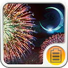 Gekka Hanabi Battery Widget icon