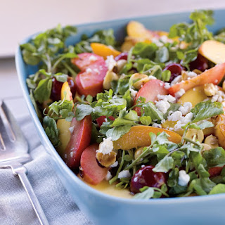 Watercress and Stone-Fruit Salad