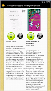 Text Synchronized Audiobooks- screenshot thumbnail