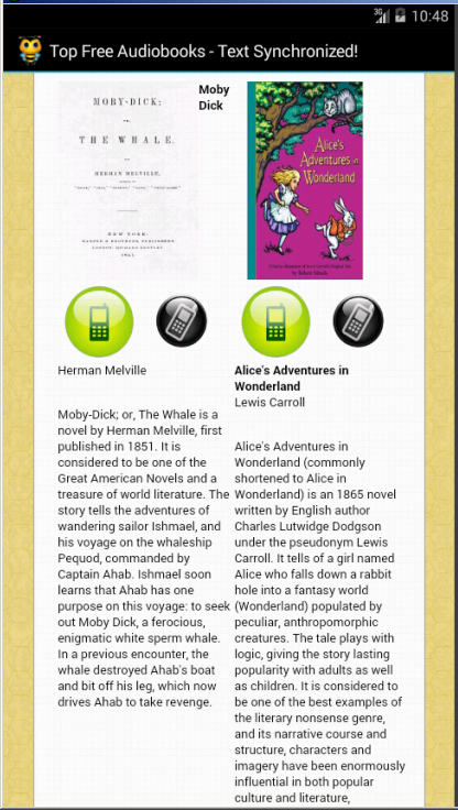 Text Synchronized Audiobooks- screenshot