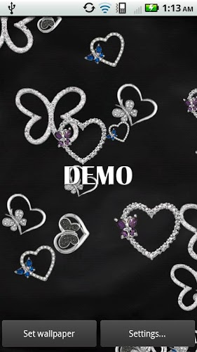 Diamond Butterflies DEMO