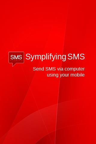Simplifying SMS Pro - screenshot