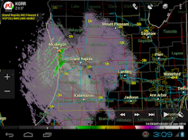 Screenshot of PYKL3 Radar (USA NEXRAD/TDWR)