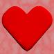 I Love Corinne 3D red heart