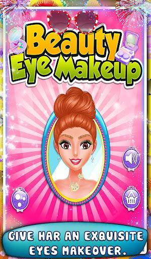 美容眼部的化妆