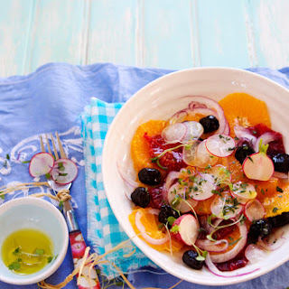 Sicilian Orange and Olive Salad