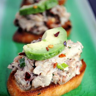 Crabby Snacks w/ Avocado & Bacon