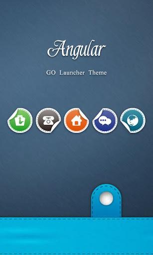 Angular GO Launcher Theme