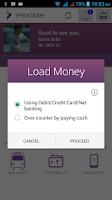 Screenshot of YPAYCASH Mobile Wallet