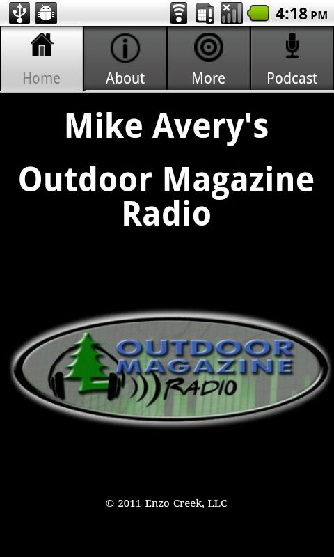 Mike Avery's Outdoor Magazine- screenshot