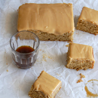 Sticky Toffee Squares.