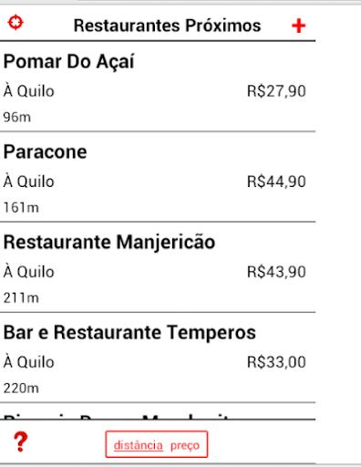 Achei Restaurantes