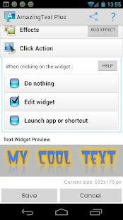 AmazingText FREE - Text Widget - screenshot thumbnail