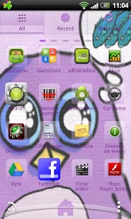 Go Launcher EX Theme Penguin - screenshot thumbnail