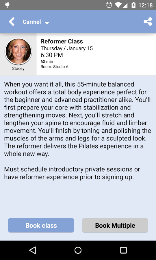 Inner You Pilates- screenshot