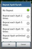 Screenshot of Al Quran (Al-Zikar Pro)
