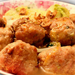 Chinese Pork MeatBalls.