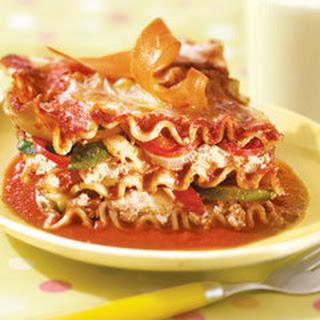 Veggie No Boiling Lasagna.