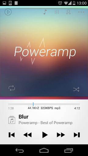 Skin for Poweramp 2in1  screenshots 3