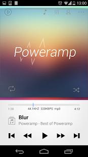 Poweramp skin 2in1 - screenshot thumbnail
