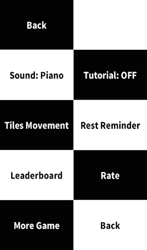 Don't Tap The White Tile-Piano