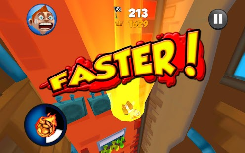 Super Falling Fred - screenshot thumbnail