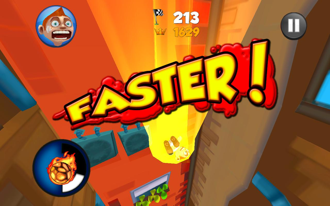 Super Falling Fred - screenshot