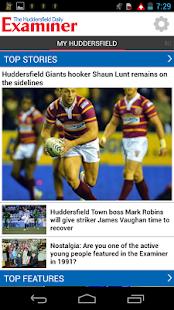 Huddersfield Examiner - screenshot thumbnail