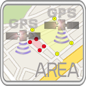 「GPS」Area measurement tool