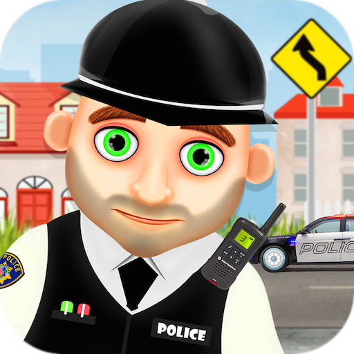 Hero Policeman for kids