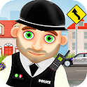 Hero Policeman for kids icon