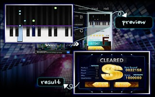 Screenshot of Piano Holic(rhythm game)-free