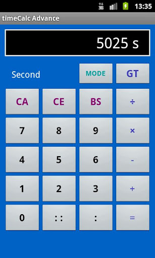無料生产应用Appの時間電卓 timeCalc Advance 記事Game