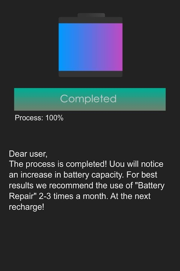 Battery Repair (Doctor Boost) - screenshot