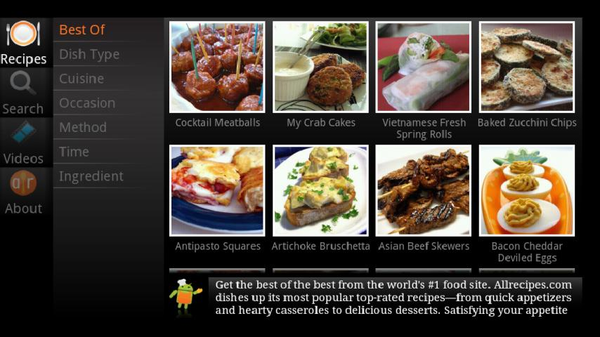 Allrecipes TV - screenshot