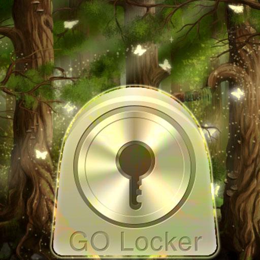 GO Locker Theme Forest Buy LOGO-APP點子
