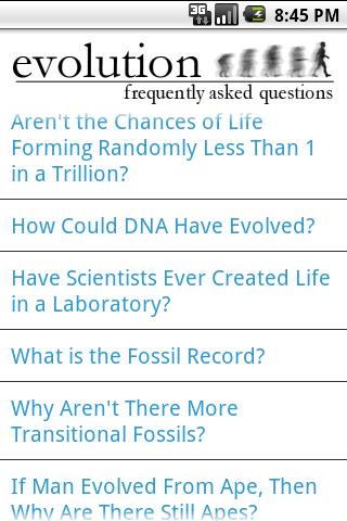 Evolution FAQ - Donate