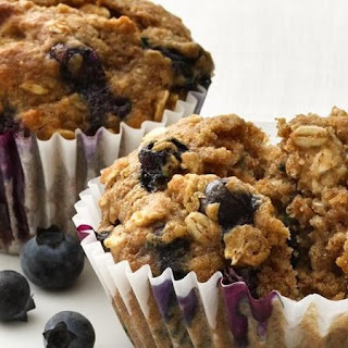 Blueberry-Oatmeal Muffins.