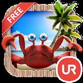 UR 3D Beach Island Live Theme