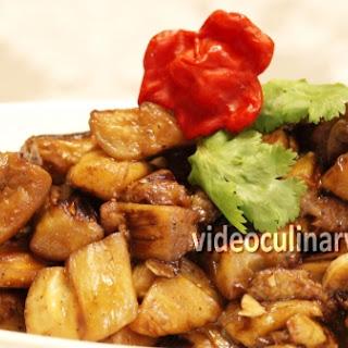 Eggplant Adobo