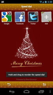 Christmas Boat Browser Theme - screenshot thumbnail