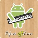 Cifras offLine - Teclado icon