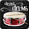 Drums Droid realistic HD logo