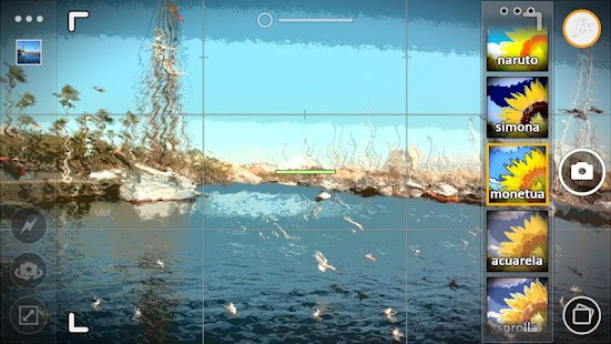Cameringo Demo. Effects Camera - screenshot thumbnail