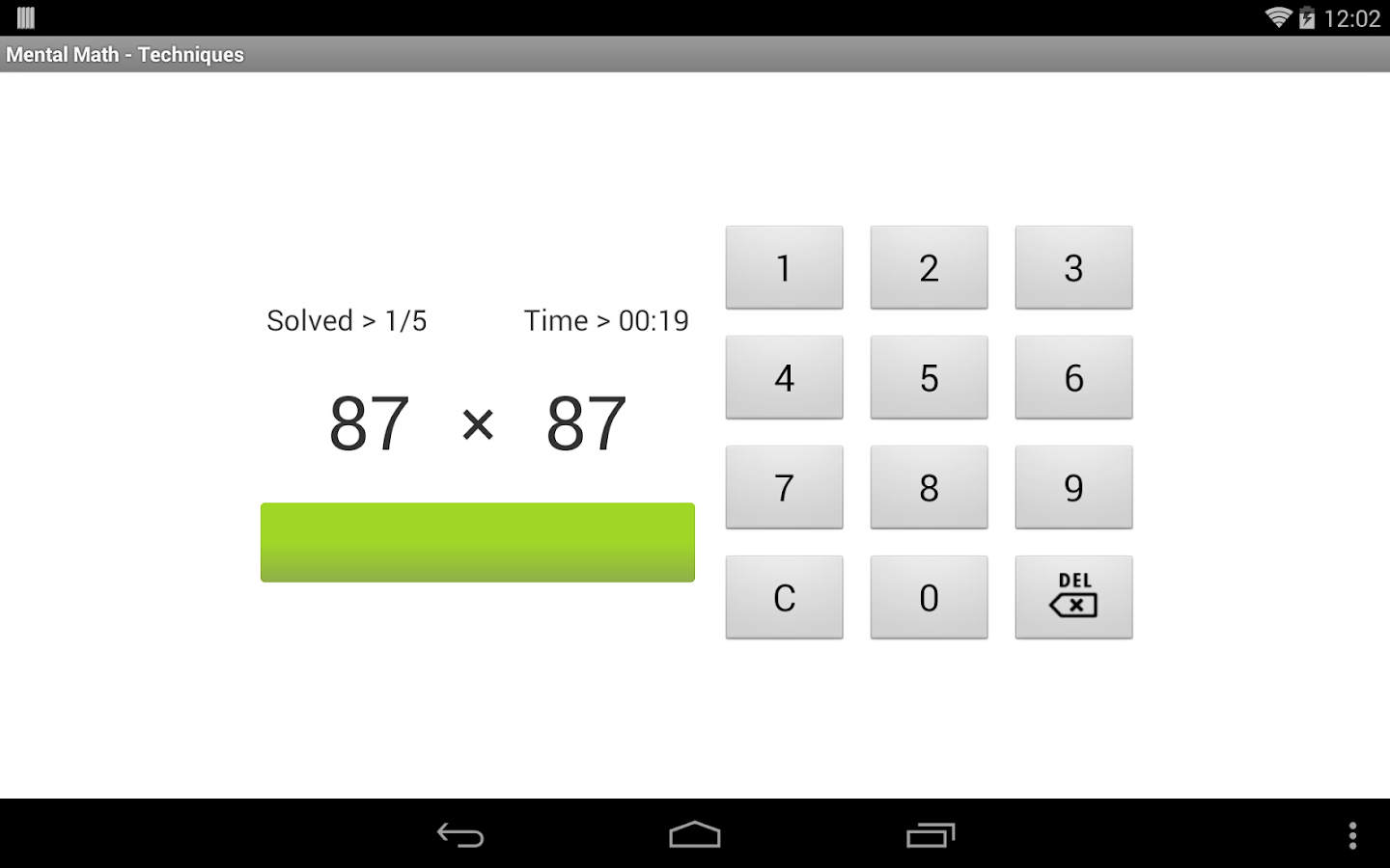Mental Math Free - screenshot
