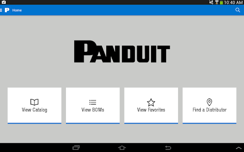 Panduit Select screenshot