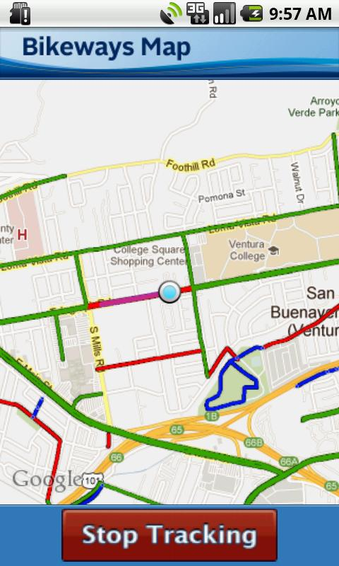 VCTC Bikeways Map- screenshot