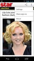 Screenshot of STAR! Magazine Lite (Official)