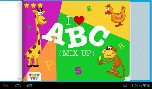 ABC Mixup - Preschool A-Z Game
